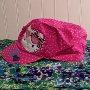 3cff3dcd4 Hello Kitty Accessories - Hello Kitty Love Peace Short Brim Cap